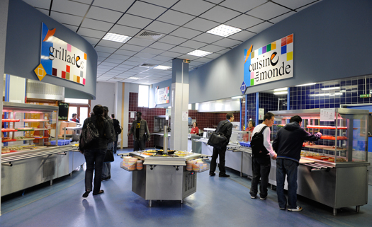 Un restaurant universitaire CROUS